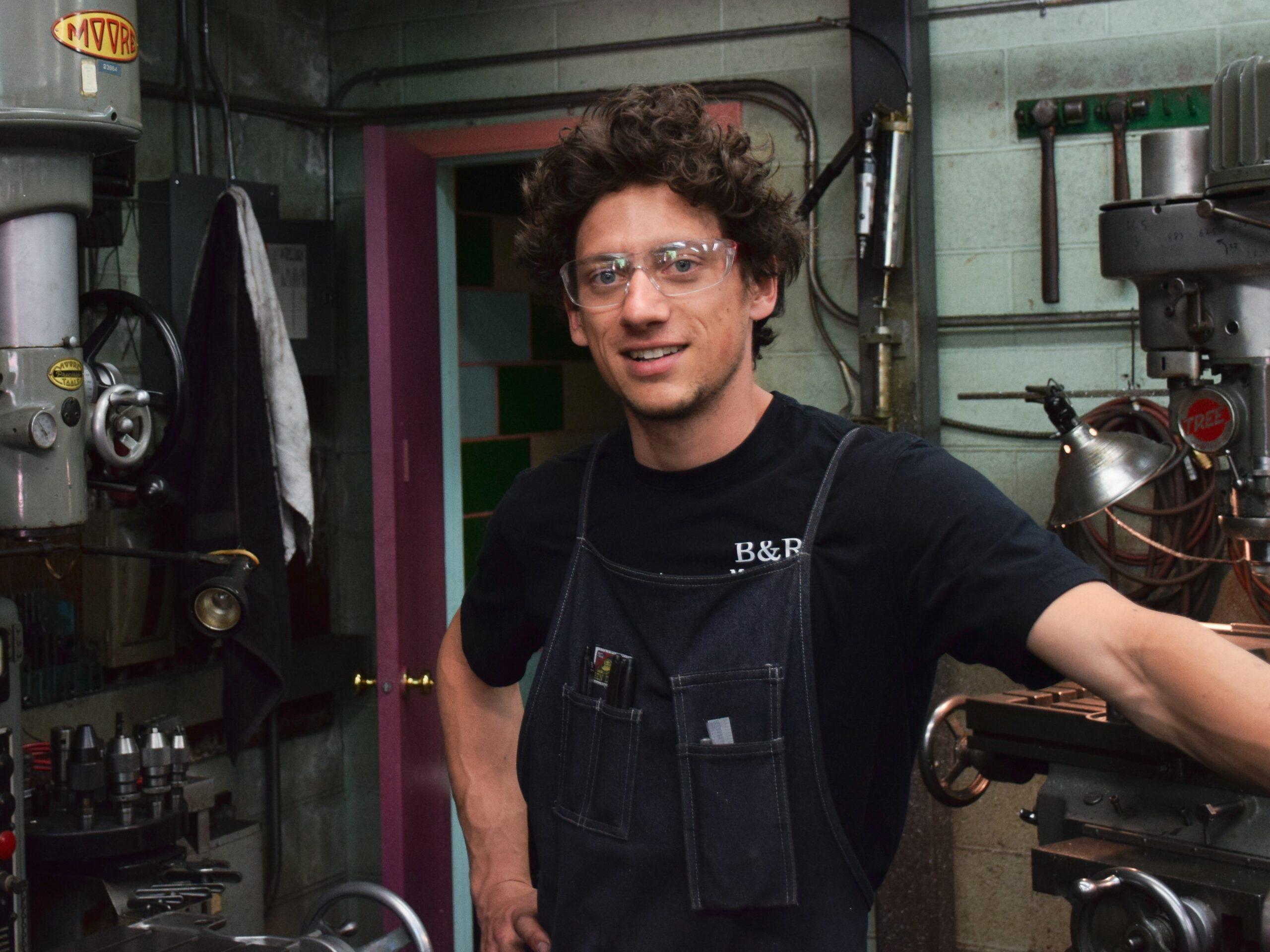 Shop foreman dylan teichroeb