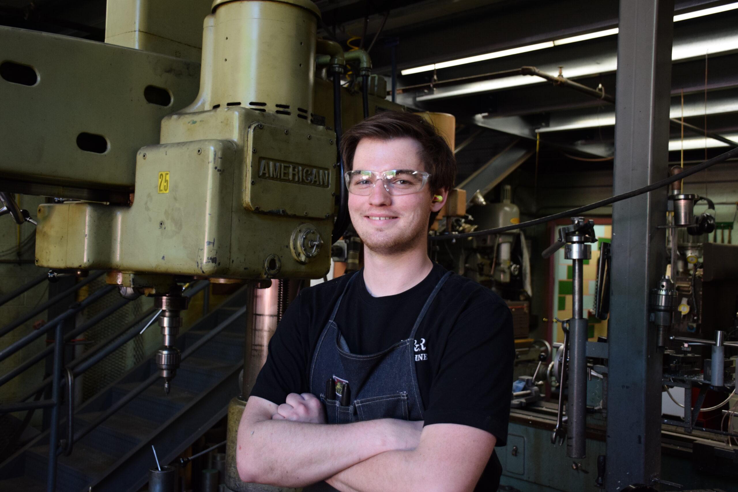 CNC specialist Logan R